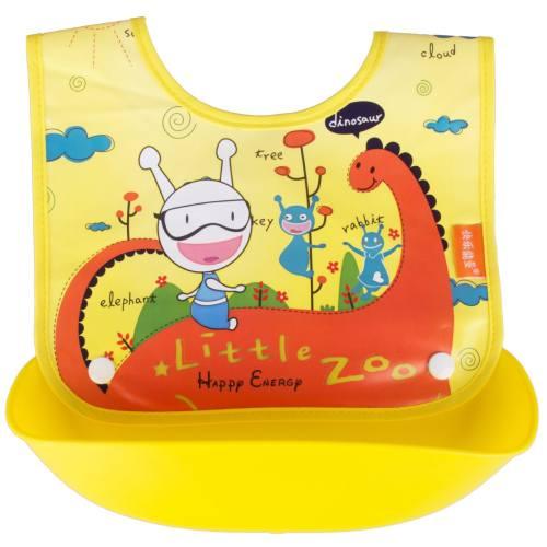 پیشبند کاسه دار کودک مدل Little zoo