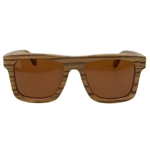 عینک آفتابی چوبی ریلماری مدل RS125