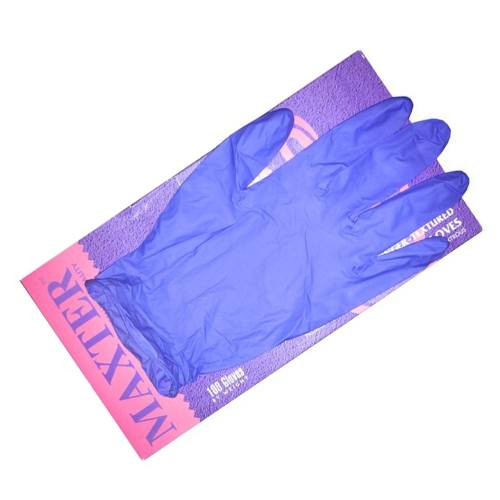 دستکش یکبار مصرف مکستر مدل 545 بسته 100 عددی