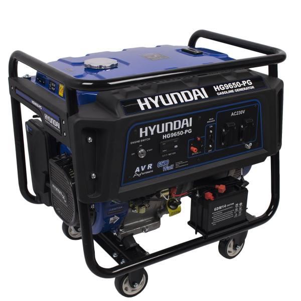 موتور برق 6.5 کیلو وات هیوندای مدل HG9650-PG | Hyundai HG9650-PG Electric Engine