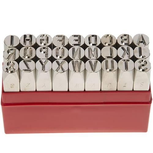 مجموعه سنبه های حروف کوب 10 میلی متری ایران پتک LK 3211