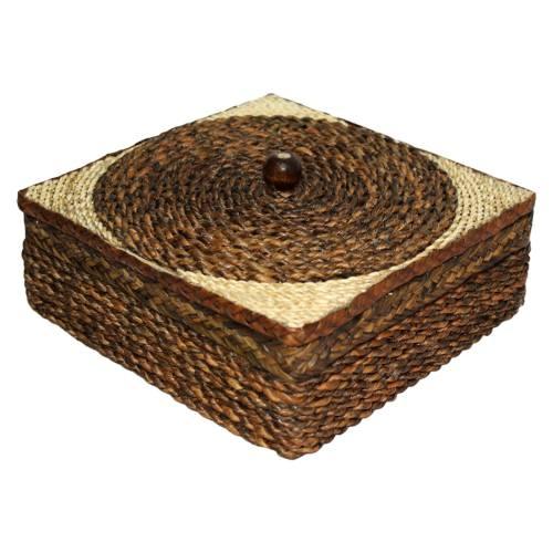 آجیل خوری حصیری گالری روهام مدل مربع