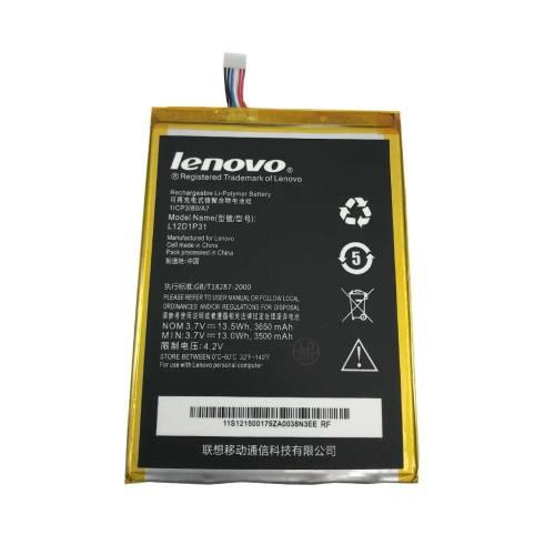باتری لنوو مدل L12D1P31 مناسب برای تبلت لنوو A3000 ظرفیت 3650 میلی آمپر