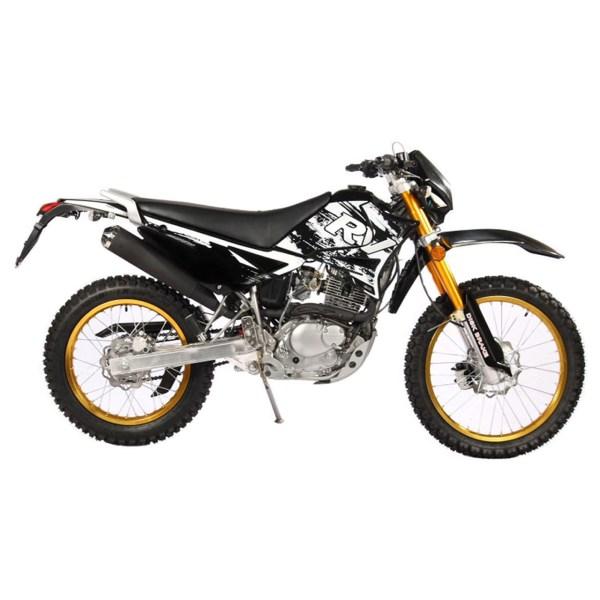 موتورسیکلت تریل روان  مدل QM200 سال 1397 | Ravan trail QM200 1397 Motorbike