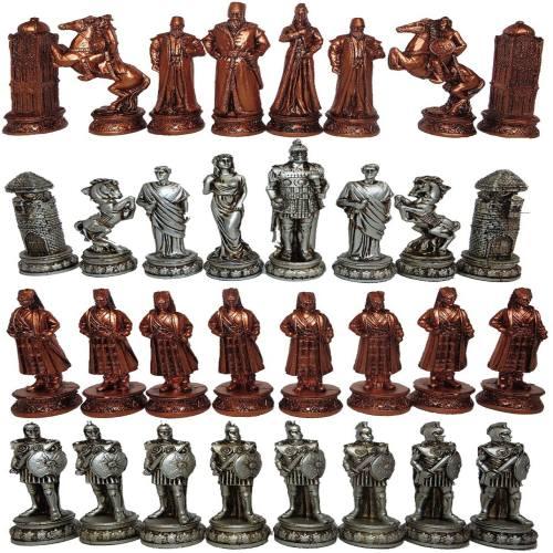 ست مهره شطرنج مدل E01