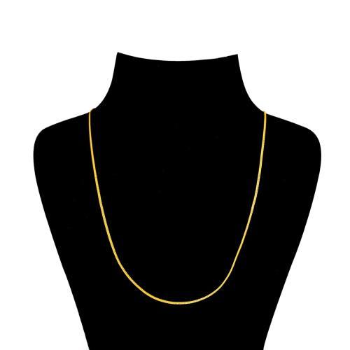 زنجیر طلا 18 عیار گالری طلاچی مدل کلاف