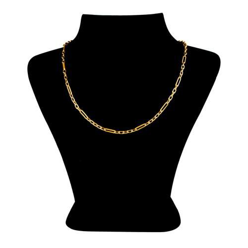 زنجیر طلا 18 عیار گالری طلاچی مدل فیگارو