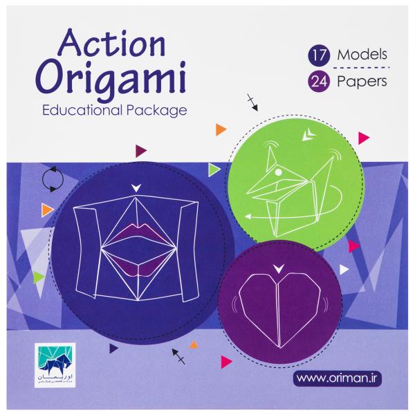 کاغذ اوریگامی اوریمان مدل Action | Oriman Action Origami Paper