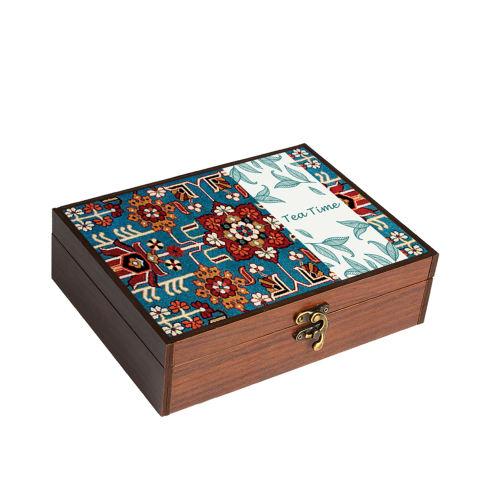 جعبه چای و نسکافه هوم لوکس مدل HT9086