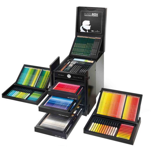 ست مداد رنگی فابرکاستل مدل Karl Box | Faber Castell Karl Box Color Pencil Set