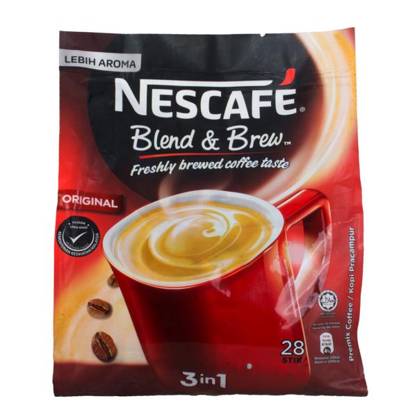 بسته ساشه قهوه فوری نسکافه مدل 3 در 1  