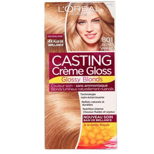 کیت رنگ مو لورآل مدل Casting Creme Gloss شماره 801