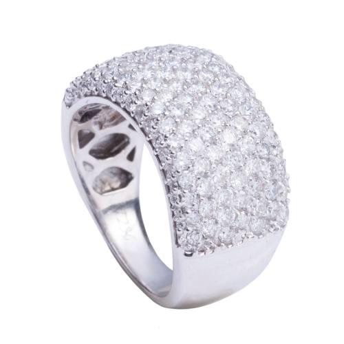 انگشتر جواهر 18 عیار  آزوریت مدل 3143