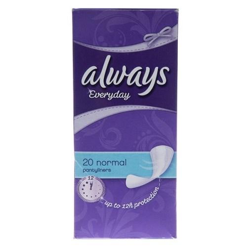 پد بهداشتی روزانه الویز مدل Normal Panty Liners بسته 20 عددی