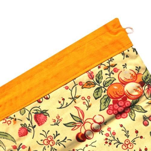 کیسه سبزی چاپی 3 تکه رزین تاژ طرح تمشک