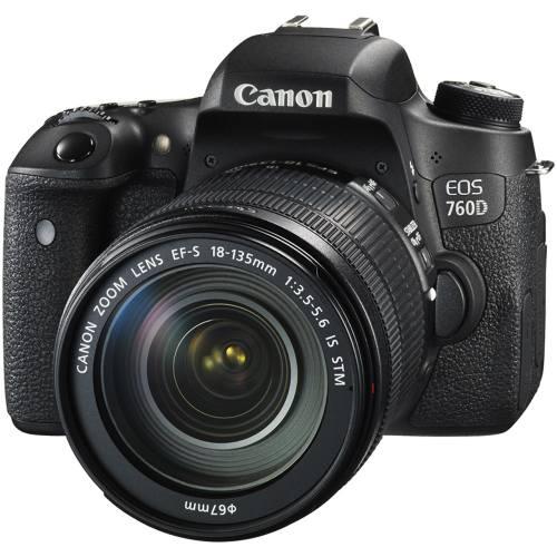 دوربین دیجیتال کانن مدل EOS 760D به همراه لنز 18-135 IS STM