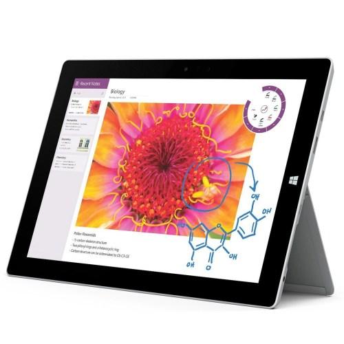 تبلت مایکروسافت مدل Surface 3 - A ظرفیت 128 گیگابایت