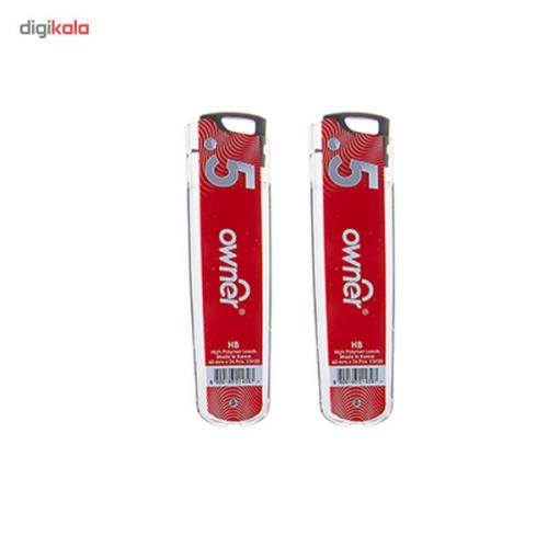 نوک مداد نوکی 0.5 میلیمتری اونر مدل High Polymer طرح 1 - بسته 6 عددی