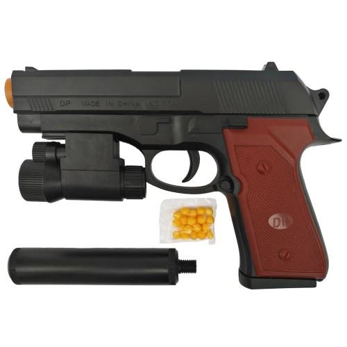 تفنگ بازی مدل کلت لیزر دار