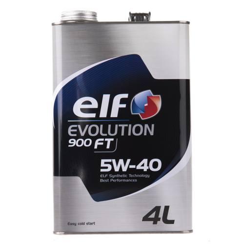 روغن موتور خودرو الف مدل Evolution 900 FT حجم 4 لیتر