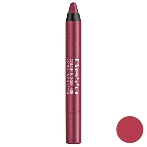 رژ لب مدادی 2 کاره بی یو مدل Color Biggie for Lip and More 408