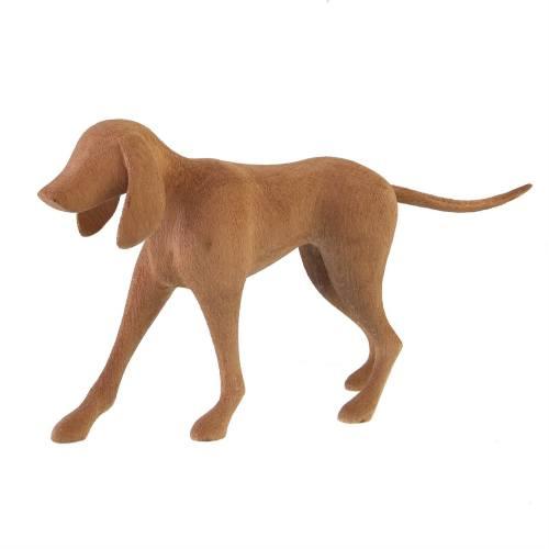 مجسمه چوبی گالری پورشیخ طرح سگ کد 190013