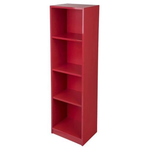 کتابخانه دی ان دی مدل درکه- کد RD-04- قرمز
