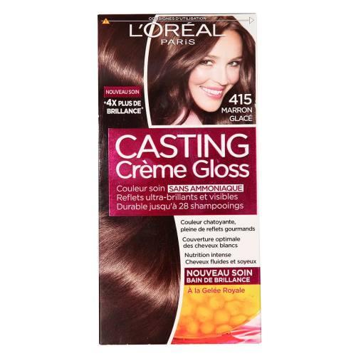 کیت رنگ مو لورآل شماره Casting Creme Gloss 415