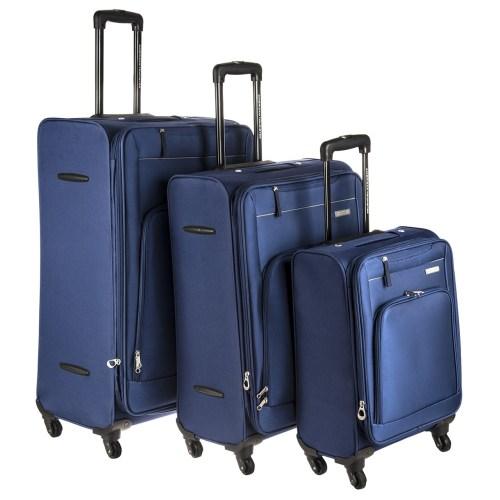 مجموعه سه عددی چمدان امریکن توریستر مدل AMT Brook