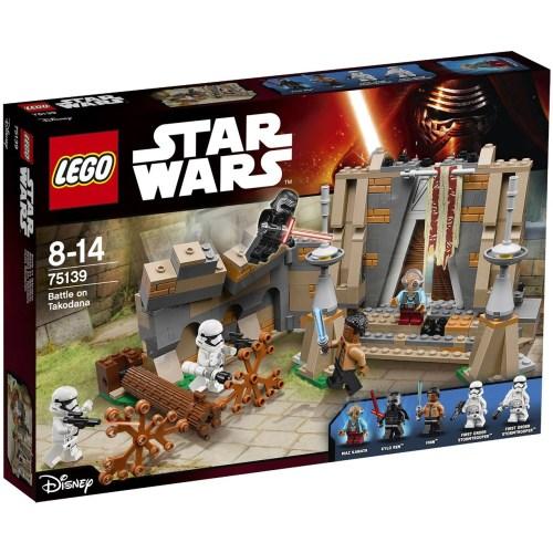 لگو سری Star Wars مدل Battle On Takodana 75139