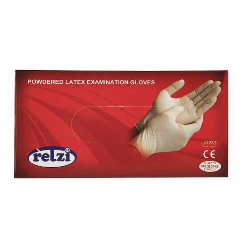دستکش یکبار مصرف رتزی کد 2436 - بسته 100 عددی