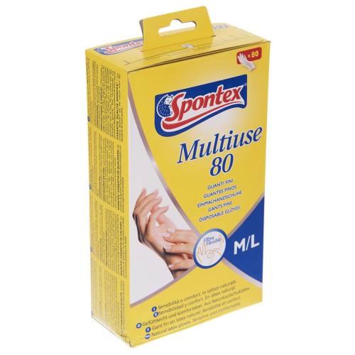 دستکش یکبار مصرف اسپانتکس کد 9281 - سایز متوسط و بزرگ