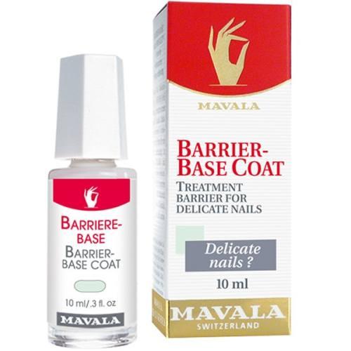 محلول محافظ ناخن های حساس، ظریف و آسیب دیده ماوالا مدل باریربیس حجم 10 میلی لیتر