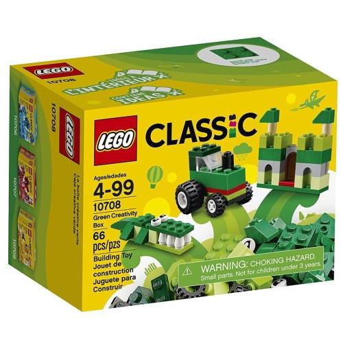 لگو سری Classic مدل Green Creativity Box 10708