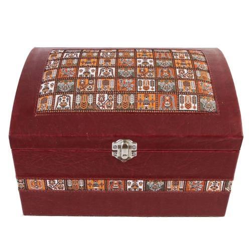 جعبه آرایش چرمی طهرانی کد 191023