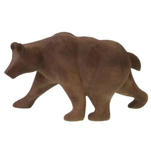 مجسمه چوبی گالری پورشیخ طرح خرس کد 190009