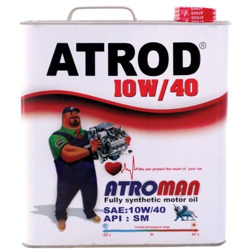 روغن موتور خودرو آترود مدل Atroman 10w40 ظرفیت 5لیتر