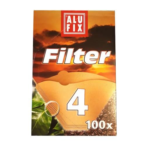 فیلتر کاغذی قهوه آلوفیکس بسته 100 عددی