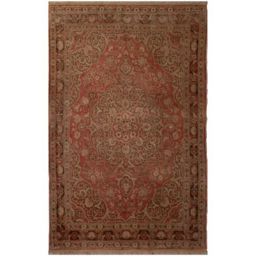 فرش دستبافت قدیمی دو متری فرش هریس کد 100154