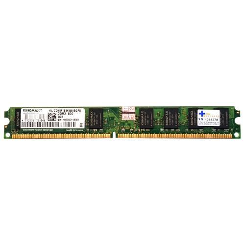 رم دسکتاپ DDR2 تک کاناله 800 مگاهرتز کینگ مکس مدل KL CD48F-B8KB5 EGFS ظرفیت 2 گیگابایت