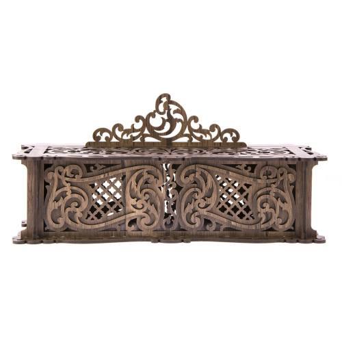 جعبه جواهر چوبی آمیتیس وود مدل بدون پایه کد 100