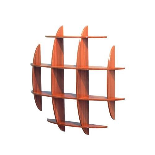 کتابخانه دیواری مندا مدل تیارا کد 107