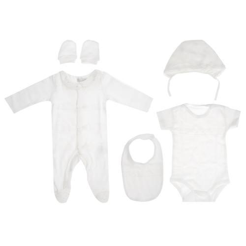 ست لباس نوزادی رزا ریو مدل 426240