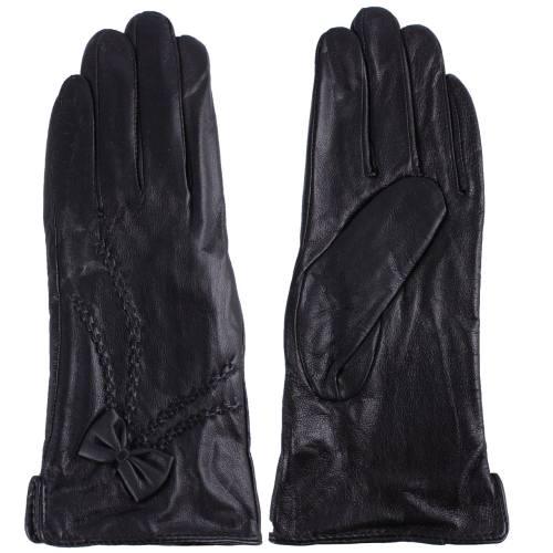 دستکش زنانه چرم واته مدل BL89