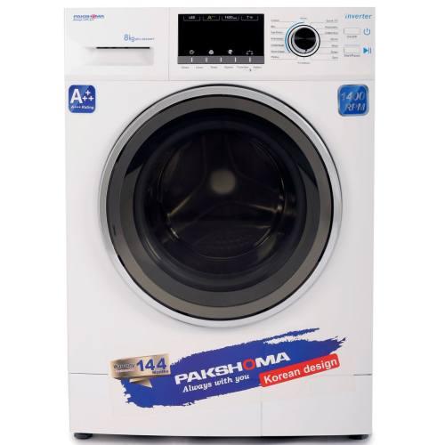 ماشین لباسشویی پاکشوما مدل WFI-80430 ظرفیت 8 کیلوگرم
