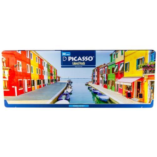 مداد رنگی 48 رنگ پیکاسو مدل Superb Writer طرح ونیز