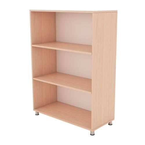 کتابخانه ام دی اف سازینه چوب سری هیرو مدل S-S901-W