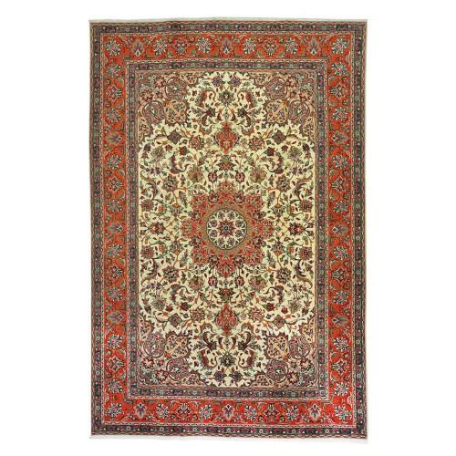 فرش دستبافت قدیمی شش متری کد 166028