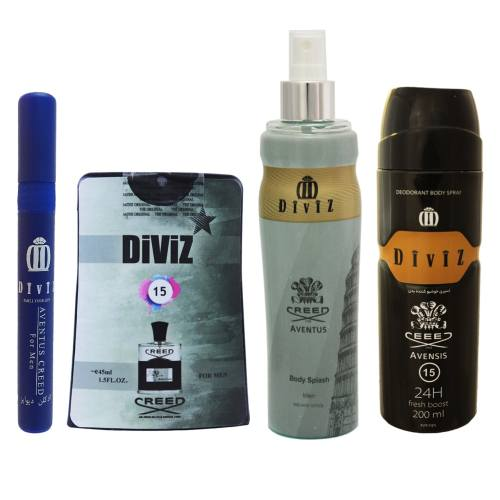 پک آرایشی و بهداشتی مردانه دیوایز مدل Aventus کد1