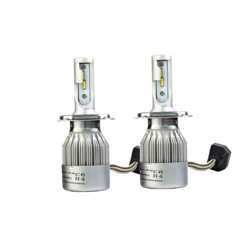 لامپ خودرو سی 6 مدل H4 بسته 2 عددی